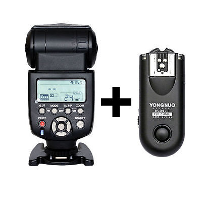 Used, Yongnuo YN-560 III Flash With RF-603 II Single Transceiver Trigger for Canon SLR for sale  Shipping to Nigeria