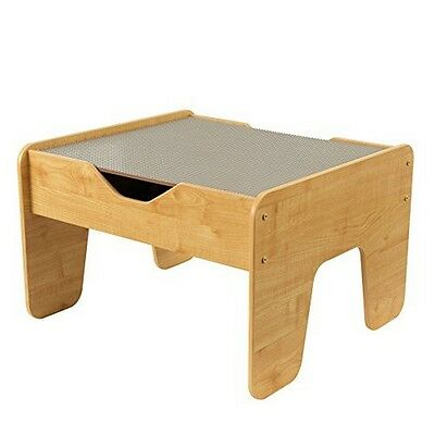 KidKraft 17506 Activity Play Table - Gray & Natural NEW