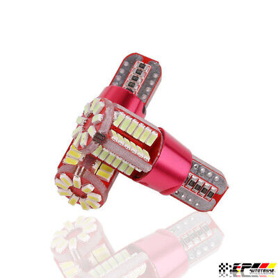 194 Type Led Replacement Bulb ((2)High-Power 501 194 W5W 3014 57SMD T10 Bulb for Car License/Dome/Marker Lights )