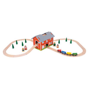 Wooden Rail Station and MORE - BEST XMAS GIFT!