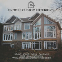 Siding, Soffit, Fascia, Cappings & More