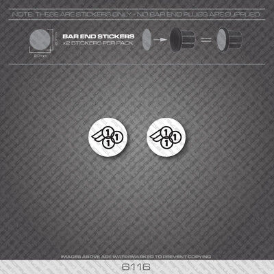 01627 Decals White 3Rensho Bicycle Stickers Transfers