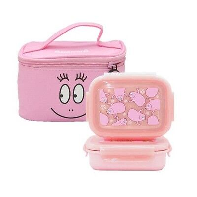 Barbapapa Lunch Box Food Container for Kids School Picnic Bento