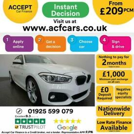image for 2015 WHITE BMW 116D 1.5 M SPORT DIESEL MANUAL 5DR HATCH CAR FINANCE FR £209 PCM