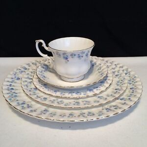 Royal Albert Memory Lane Dinnerware ....Dishes  12 place setting
