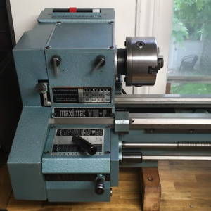 EMCO Maximat V10-P Imperial Lathe and Mill Attachment & More