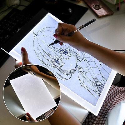 xLED A Drawing Pad Tracing Light Box Board Artist Tattoo Table Stencil Display