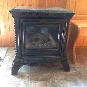 Fireplace natural gas