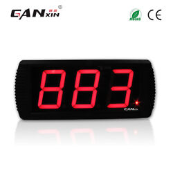 [Ganxin] 4'' Day counter 999 days multi-colored led event countdown timer clock
