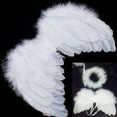 Infant Baby Angel Feather Wings Cupid Fairy Photo Props Fancy Costume BL (Infant Fairy Costumes)
