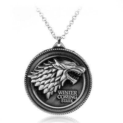 Game of thrones houses inspired necklace