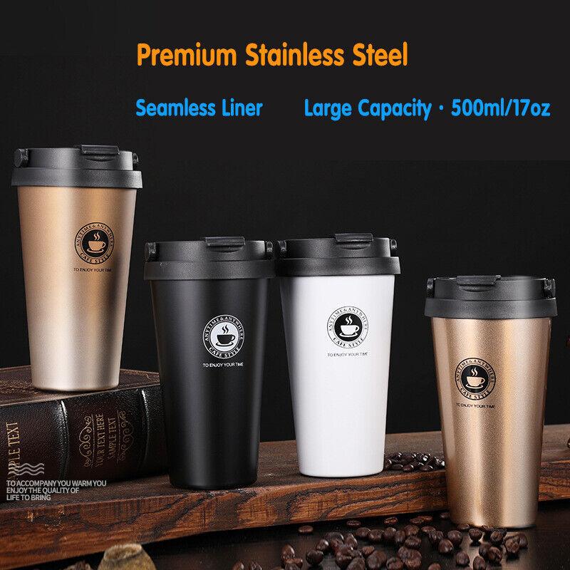2-Pack Stainless Steel Coffee Mug Vacuum-Insulated Travel Wa