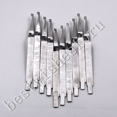Dental Direct Bracket Holder Orthodontic Bonding Serrated Instruments Tweezers