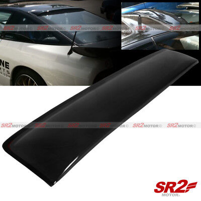 (Rear Roof Spoiler Window Visor Shade Guard Wing fits 89-94 Nissan 240SX S13)
