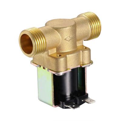 2 Wege 1/2 Zoll Magnetventil Messing DC 12V Stromlos Geschlossen NPSM Ventil DE 1 2 Zoll Magnetventil