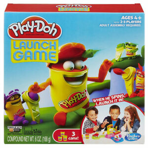 PLAY-DOH - Launch-O-Rama Game & Compounds in Box (LIKE NEW)