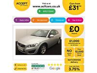 Volvo C30 1.6D DRIVe ( 115bhp ) 2012MY ES FROM £31 PER WEEK !