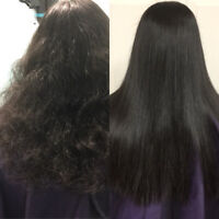 Permanent Hair Straightening /Hair and Makeup