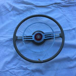Mercury steering wheel