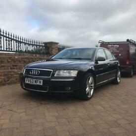 image for 53 2004 Audi A8 4.0TDI Quattro 275BHP Auto, Full electric heated leather seats,