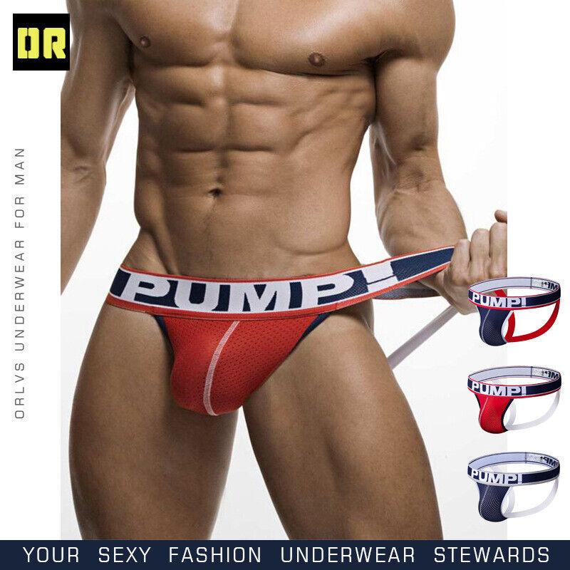 Men's Jock Strap Breathable Underwear Backless Jockstrap Bri