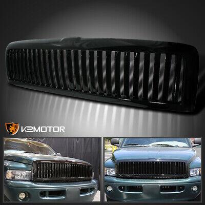 1994-2001 Dodge Ram 1500 2500 3500 Black Front Bumper Hood Grill Grille (00 01 Ram 3500 Grille)