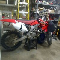 motocross honda crf 450 r impecable