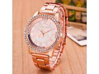 brand new MK rose gold watch