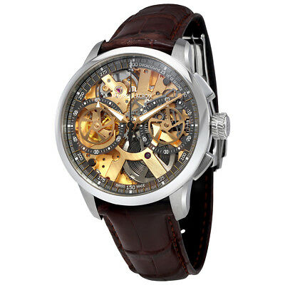 Maurice Lacroix Chronograph Skeleton Dial Mens Watch MP7128-SS001-500