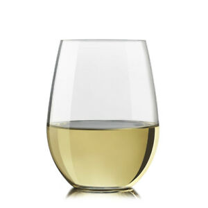 Libbey Glass Vina Stemless Wine 4pc set (Brand New)
