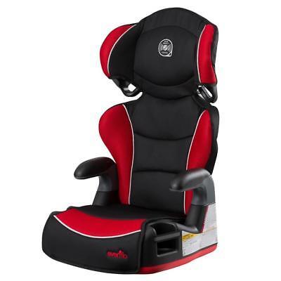 Evenflo Big Kid Amp High Back Booster Car Seat - Heatwave