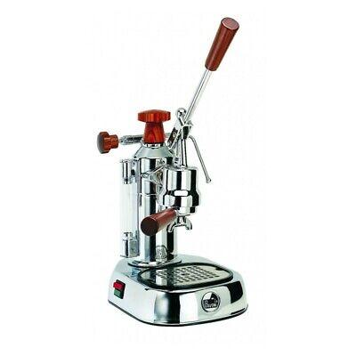 La Pavoni Elh Europiccola Chrome Manual Lever Espresso Cappuccino Maker Machine