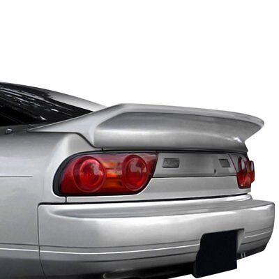 (For Nissan 240SX 89-93 Wing Trunk Lid Spoiler Wangan V2 Style Fiberglass Rear)