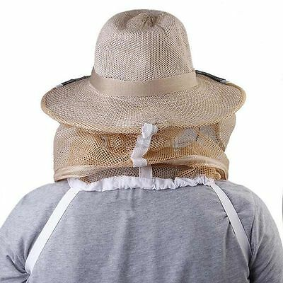 Newbeekeeping Beekeeper Hat Mosquito Bee Insect Net Veil Facehead Protect Hot