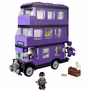 lego harry potter knight bus 4866 with minifigures retired set