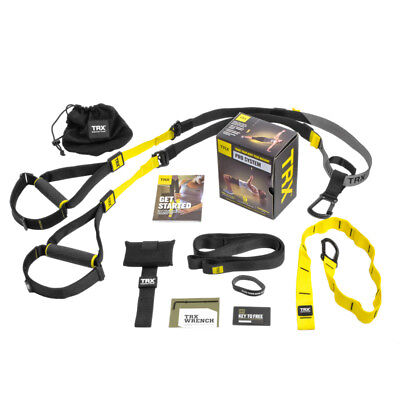 TRX PRO 4 TRAINING KIT SUSPENSION GYM EXERCISE BANDS FITNESS TRAINER