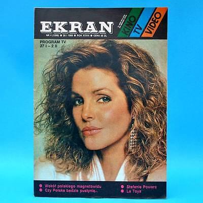 EKRAN 1599 | 27.01.-02.02.1989 | VR Polen FF Dabei | Stefanie Powers La Toya