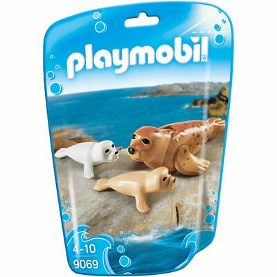 Playmobil 9069 Family Fun Seals with Babies Animals