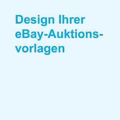 eBay Shop Auktionsvorlage