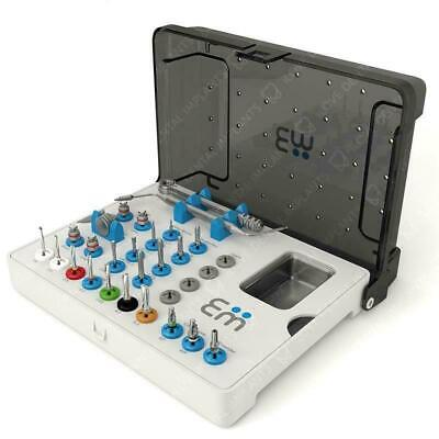 Full Surgical Kit High Quality Drills Drivers Ratchet Dental Implants Tool