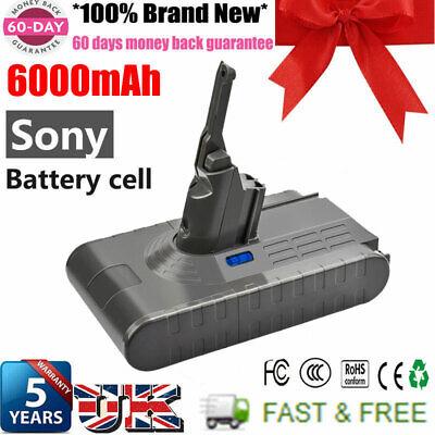 6000mAh Sony Cell Battery For Dyson V8 Li-ion 21.6V V8 Absolute Vacuum Cleaner