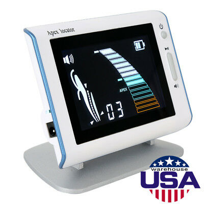 Woodpecker Dte Style Dental Endodontic Root Canal Apex Locator 4.5 Bright Lcd
