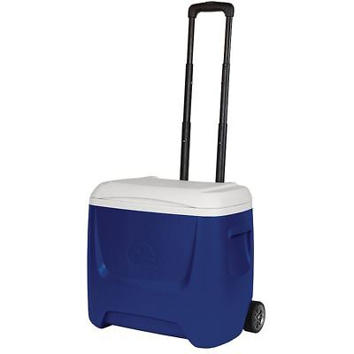 IGLOO 26L WHEELED PORTABLE CAMPING COOL BOX ISLAND BREEZE 28 ROLLER COOLER