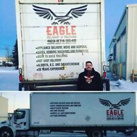 Delivery, transportation, storage and moving professionals