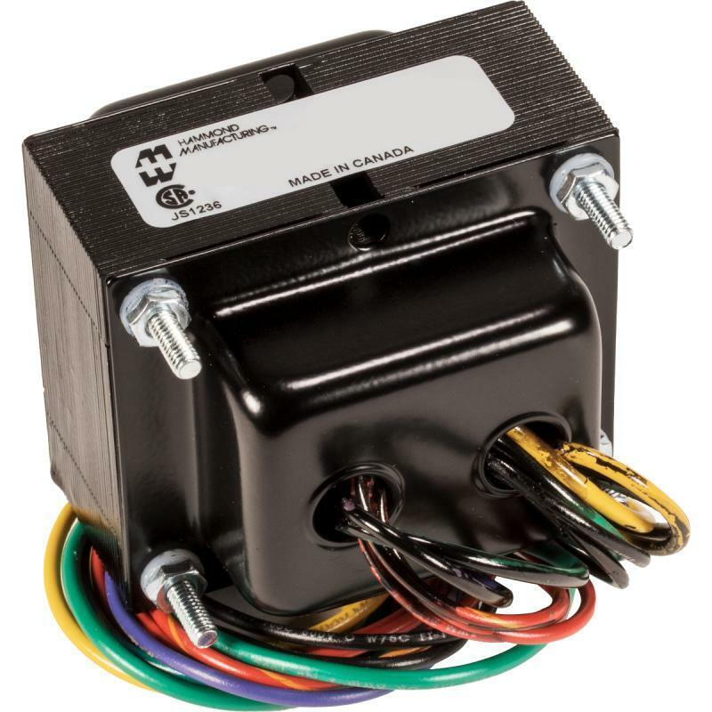 Transformer, Hammond, Amp, For Fender, 120 V, Replacement: Deluxe, Deluxe Reverb