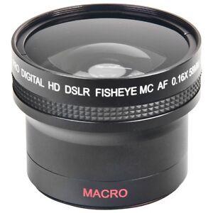 Objectif oeil-de-poisson très grand-angle de Bower