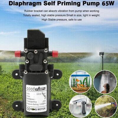 2019 New 12v Water Pump 130psi Self Priming Pump Diaphragm High Pressure Auto