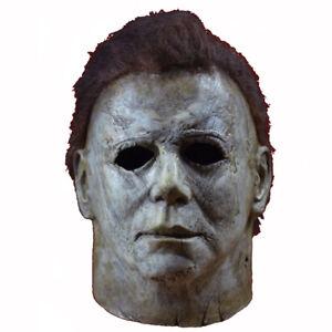 Deluxe Michael Myers Mask Halloween II Latex Full Head Adult Size Fancy Dress