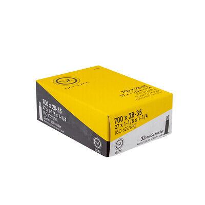 "Kenda 700x28 32 35C 27/""x 1-1//8-1//4/"" Threaded 33mm Presta Valve Bicycle Tube Pack"