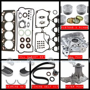 Toyota 1.6L  4AFE  Parts